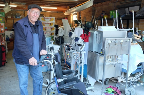 Support from Toronto Rotary club - donation of 2 wheelchairs and $1,000
