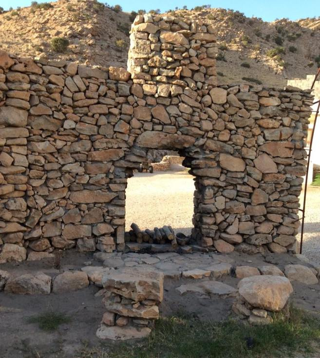 Alqosh Stone Wall and door