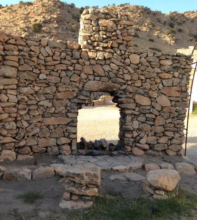 Alqosh Stone Wall and door